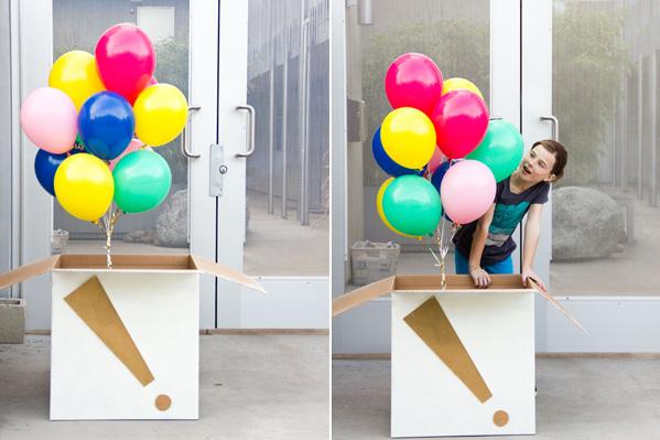 5 X Happy Birthday Balloons In Carton Box